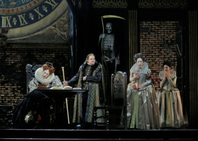 Brian as Lord Cecil with Sondra Radvanovsky in Roberto Devereux