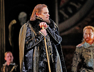 Brian as Lord Cecil in Roberto Devereux